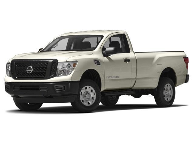 Photo Used 2017 Nissan Titan XD S 4x2 Gas Single Cab S For Sale in Colorado Springs, CO