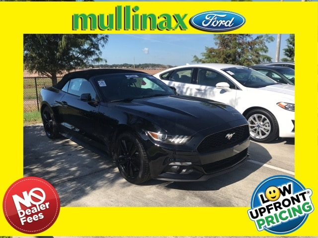 Photo Used 2016 Ford Mustang Ecoboost Premium W Performance Package, NAV, 19 Convertible I-4 cyl in Kissimmee, FL