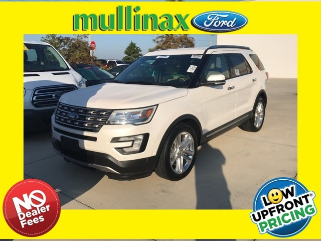 Photo Used 2016 Ford Explorer Limited W Lane Keeping, Blis, 20 Premium Wheels SUV V-6 cyl in Kissimmee, FL