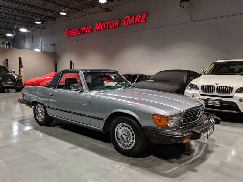 Photo Used 1982 Mercedes-Benz 380 Series 380SL