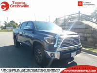 Certified 2019 Toyota Tundra Limited 5.7L V8 Truck CrewMax in Greenville SC