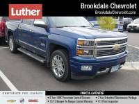 Certified Pre-Owned 2015 Chevrolet Silverado 1500 Crew Cab Short Box 4-Wheel Drive High Country