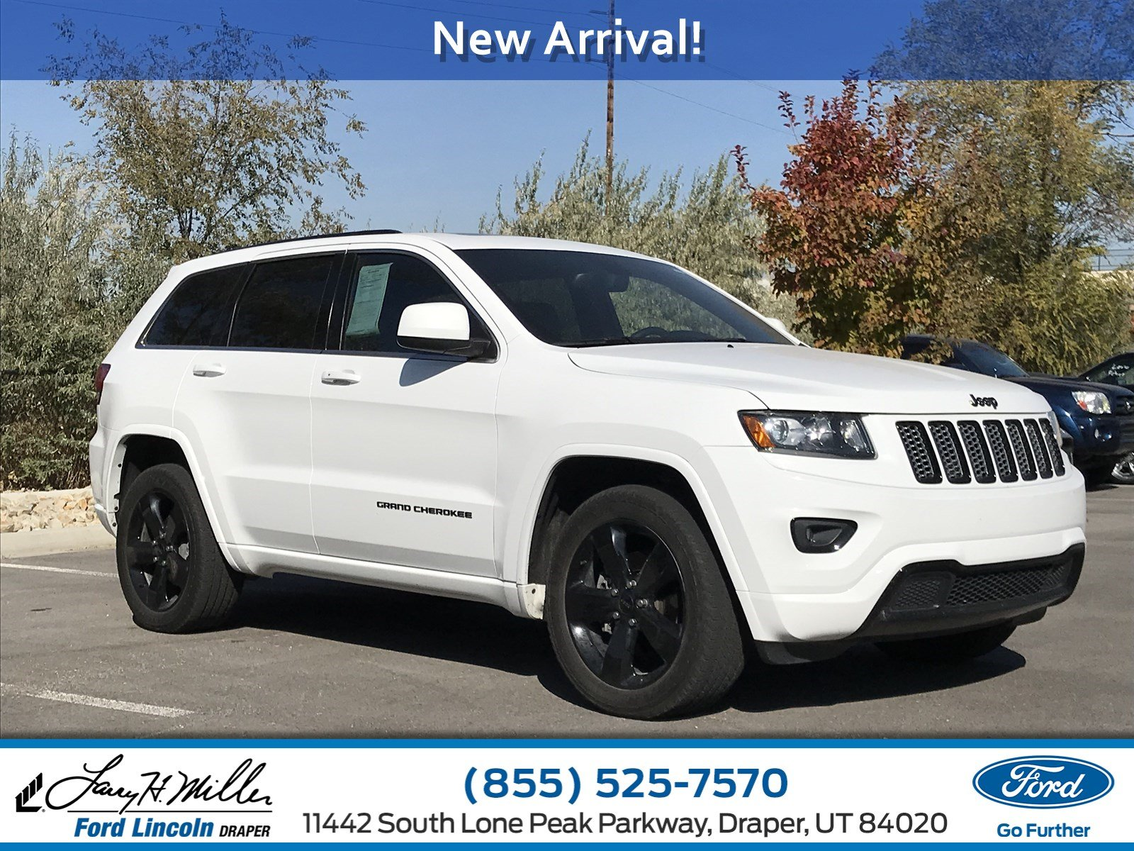 Photo 2015 Jeep Grand Cherokee Altitude SUV V-6 cyl