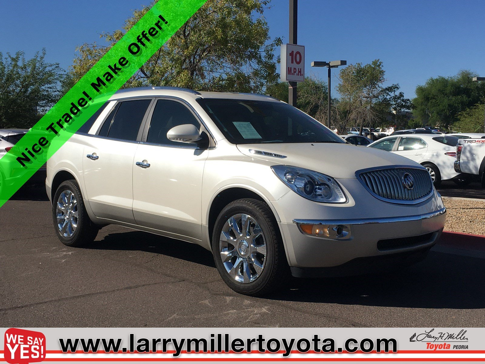 Photo Used 2011 Buick Enclave For Sale  Peoria AZ  Call 602-910-4763 on Stock 92099A