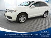 Certified 2017 Acura RDX w/Technology Pkg in Greensboro NC