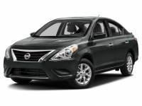 2017 Nissan Versa S Plus Sedan