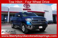 Certified 2016 Toyota Tundra 4WD Truck SR5 SR5 CrewMax 5.7L FFV V8 6-Spd AT For Sale in Colorado Springs