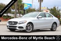 Certified Used 2017 Mercedes-Benz C-Class Sedan For Sale in Myrtle Beach, South Carolina