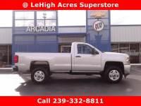 Used 2016 Chevrolet Silverado 2500HD Work Truck Pickup
