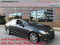 Used 2010 Mercedes-Benz E350 Sport AMG Wheel Package For Sale at Paul Sevag Motors, Inc. | VIN: WDDHF5GB8AA041502