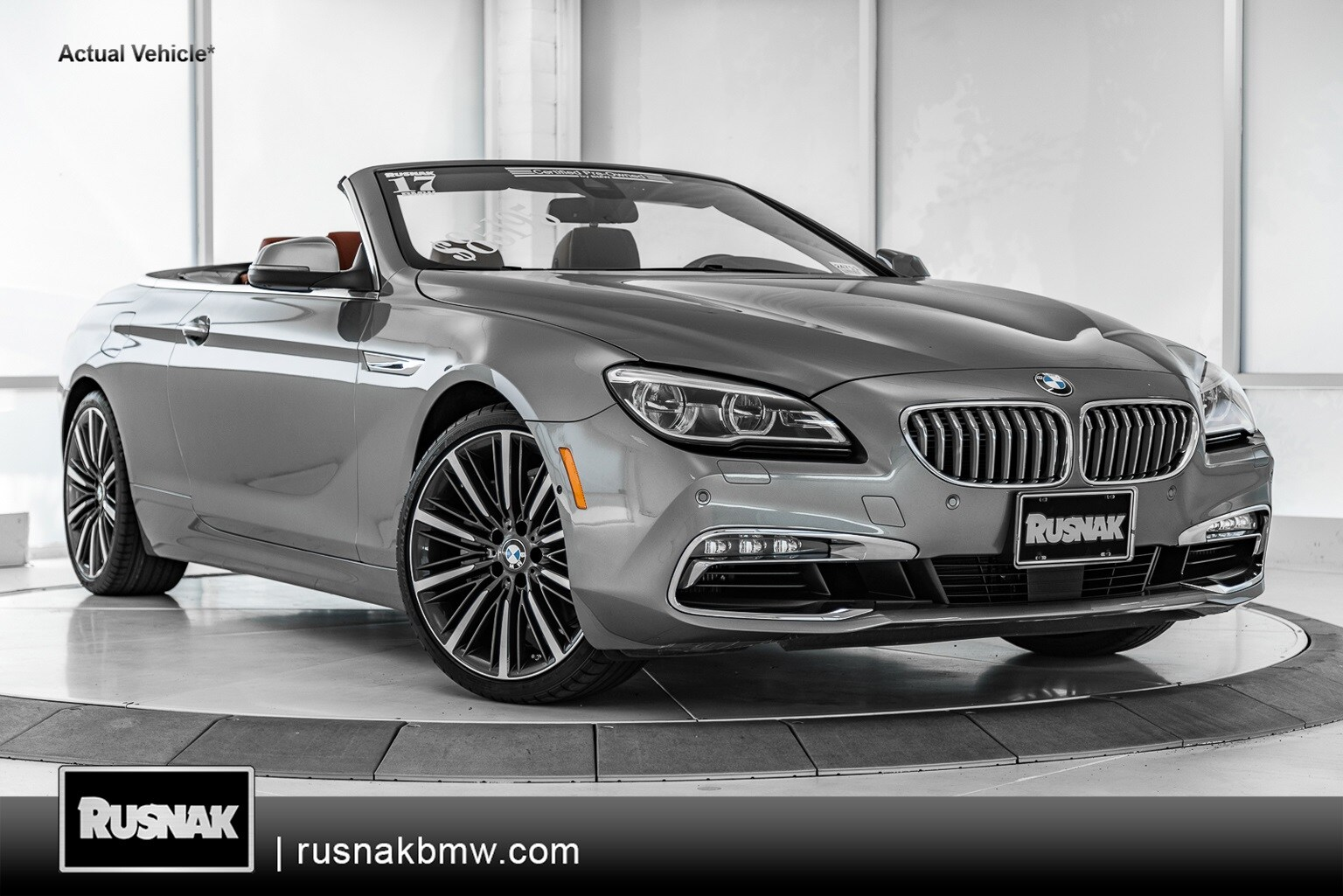 Photo Pre-Owned 2017 BMW 6 Series 650i xDrive Convertible For Sale Near Los Angeles
