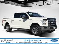 2015 Ford F-150 Lariat Truck SuperCrew Cab V-6 cyl