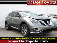 Used 2018 Nissan Murano SV For Sale in Thorndale, PA | Near West Chester, Malvern, Coatesville, & Downingtown, PA | VIN: 5N1AZ2MH6JN125767