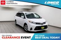 Certified Used 2019 Toyota Sienna LE FWD 8-Passenger in El Monte