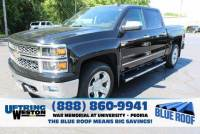 Certified Pre-Owned 2014 Chevrolet Silverado 1500 Crew Cab Short Box 4-Wheel Drive LTZ w/1LZ VIN 3GCUKSEC2EG373263 Stock Number 1473263A