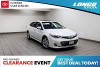 Certified Used 2014 Toyota Avalon XLE Premium in El Monte