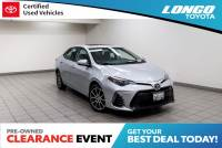 Certified Used 2017 Toyota Corolla 50th Anniversary Special Edition CVT in El Monte