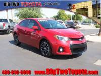 Certified Pre Owned 2016 Toyota Corolla S for Sale in Chandler and Phoenix Metro Area