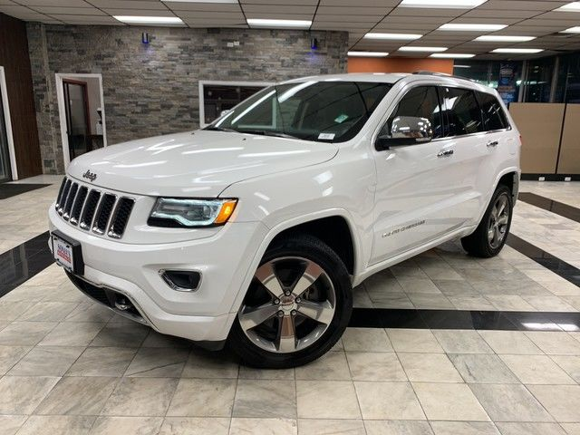 Photo 2016 Jeep Grand Cherokee Overland