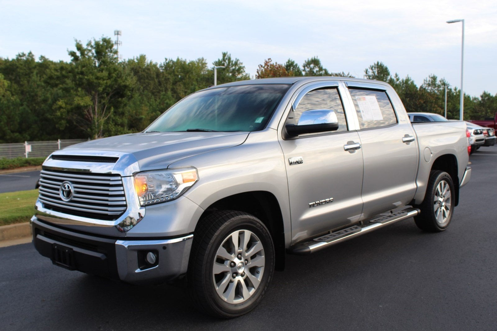 Photo 2014 Toyota Tundra 4x4 Limited 5.7L V8 FFV 26 Truck Crew Max in Columbus, GA