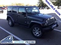 2017 Jeep Wrangler JK Unlimited Sahara 4x4 SUV - Appleton