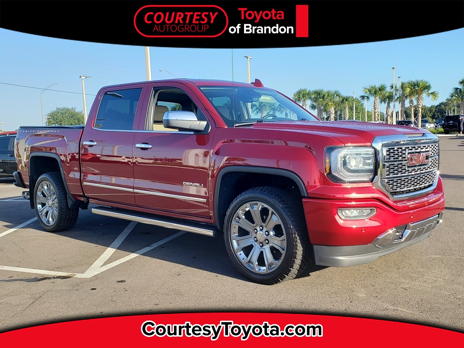 Photo Pre-Owned 2018 GMC Sierra 1500 Denali Truck Crew Cab in Jacksonville FL