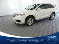 Certified 2017 Acura RDX Technology Package CERTIFIED in Greensboro NC