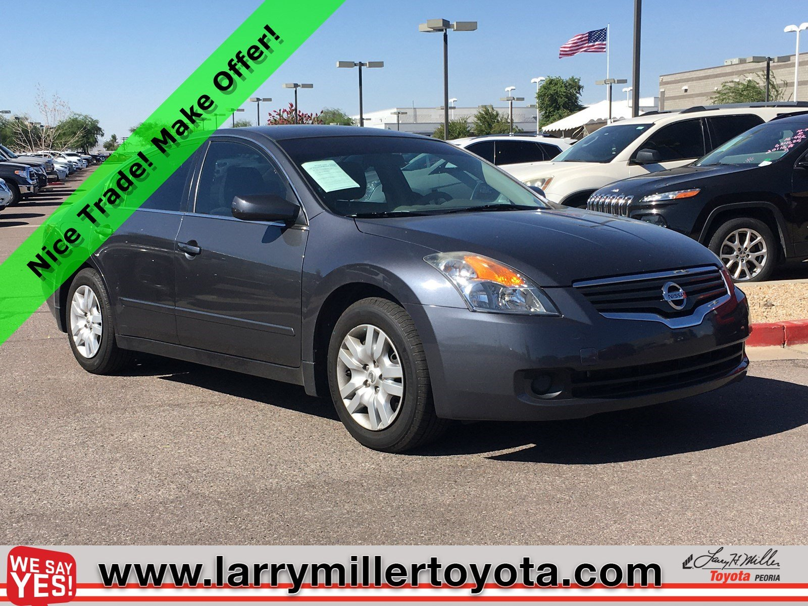 Photo Used 2009 Nissan Altima For Sale  Peoria AZ  Call 602-910-4763 on Stock 92248A