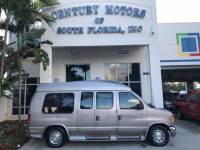 2001 Ford Econoline Cargo Van Recreational Hightop Conversion Rear Bed and Captain Chairs