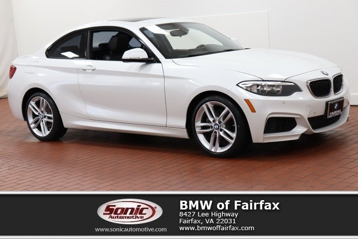 Photo Certified Used 2016 BMW 2 Series Coupe in Fairfax, VA