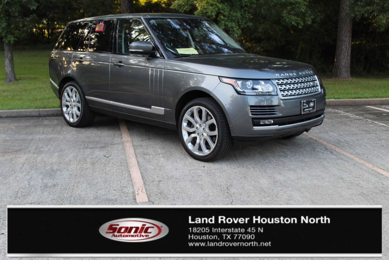 Photo Certified Used 2017 Land Rover Range Rover 5.0L V8 Supercharged in Houston