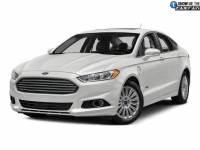 2016 Ford Fusion Energi SE Luxury Sedan I-4 cyl