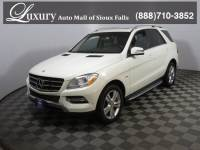 Pre-Owned 2012 Mercedes-Benz M-Class ML 350 BlueTEC 4MATIC SUV for Sale in Sioux Falls near Brookings