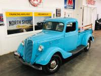 1937 Ford Pickup - 350 SBC ENGINE - SUPER CLEAN BODY AND PAINT - VINTAGE TRUCK -