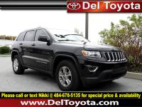 Used 2014 Jeep Grand Cherokee Laredo For Sale in Thorndale, PA | Near West Chester, Malvern, Coatesville, & Downingtown, PA | VIN: 1C4RJFAG1EC338810