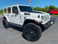 Used 2019 Jeep Wrangler Unlimited TURBO LIFTED SAHARA LEATHER HARDTOP