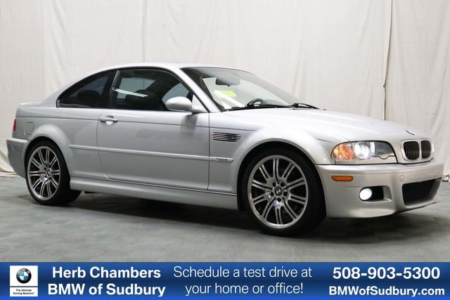Photo Pre-Owned 2004 BMW M3 RWD Coupe in Boston, MA