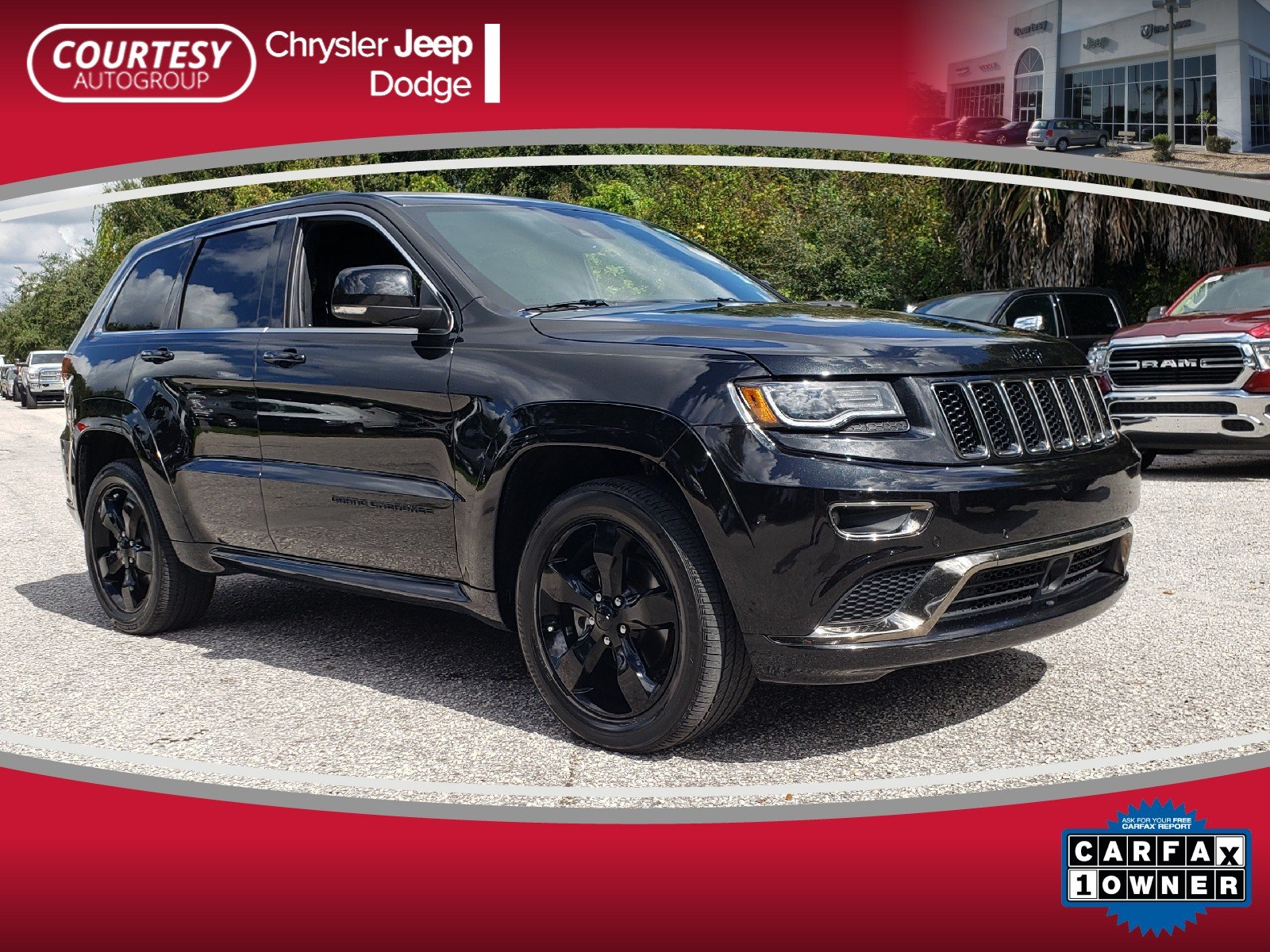 Photo Certified 2016 Jeep Grand Cherokee High Altitude RWD High Altitude in Jacksonville FL