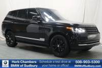Pre-Owned 2017 Land Rover Range Rover HSE SUV in Sudbury, MA