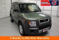 Used 2004 Honda Element For Sale at Duncan's Hokie Honda | VIN: 5J6YH28514L010557