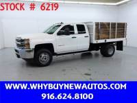 2015 Chevrolet Silverado 3500HD ~ Double Cab ~ 9ft. Stake Bed ~ Only 49K Miles!