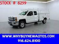 2015 Chevrolet Silverado 2500HD Utility ~ Diesel ~ Double Cab ~ Only 65K Miles!