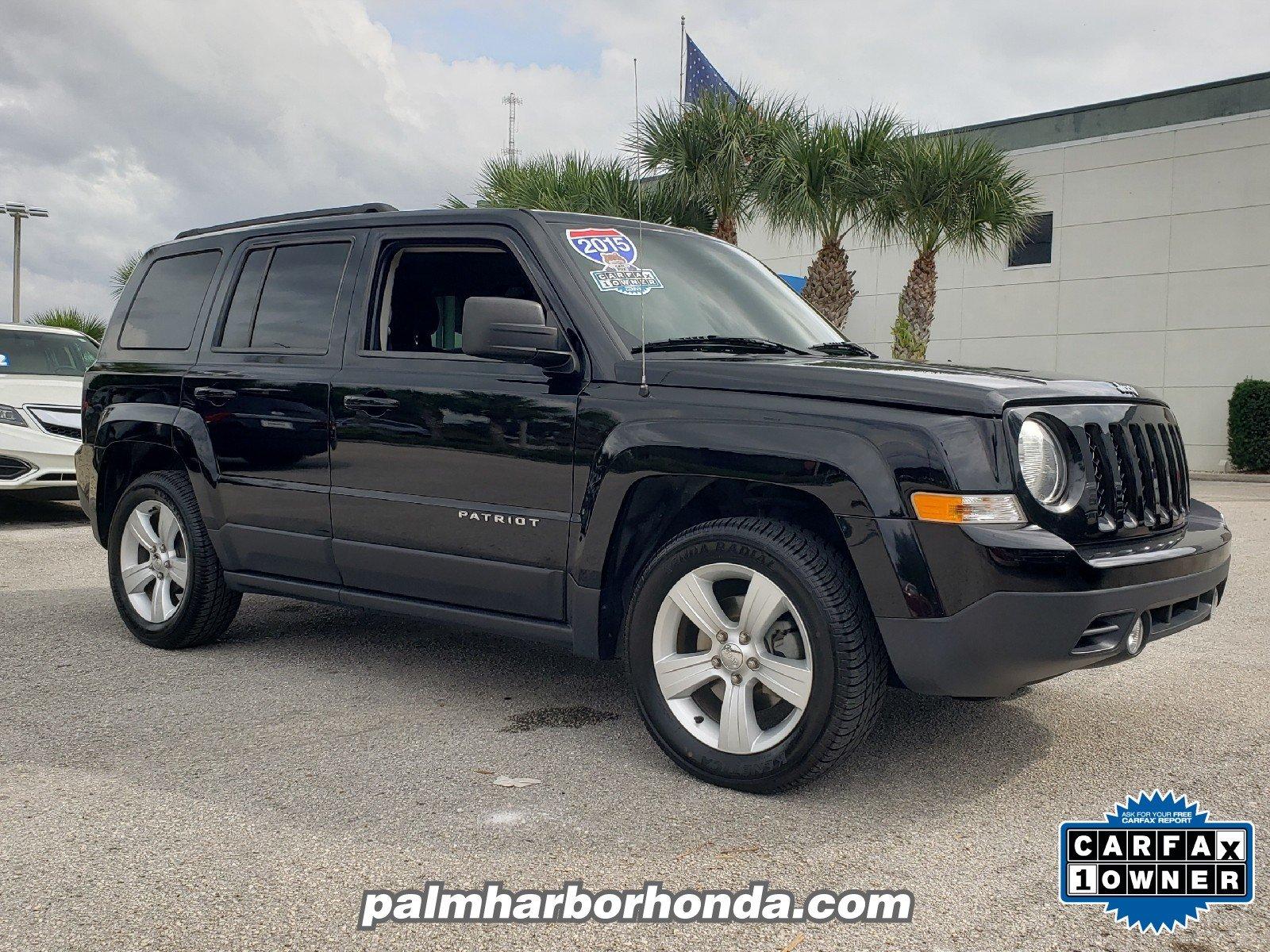 Photo Pre-Owned 2015 Jeep Patriot Latitude FWD SUV in Jacksonville FL