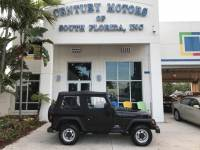 2004 Jeep Wrangler SE 5 Speed Manual 4 Cylinder Vinyl Seats A/C CD