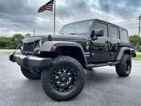 Used 2014 Jeep Wrangler Unlimited CUSTOM SPORT S HARDTOP LIFTED MONSTER WHEELS
