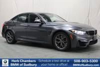 Pre-Owned 2018 BMW M3 Sedan in Sudbury, MA