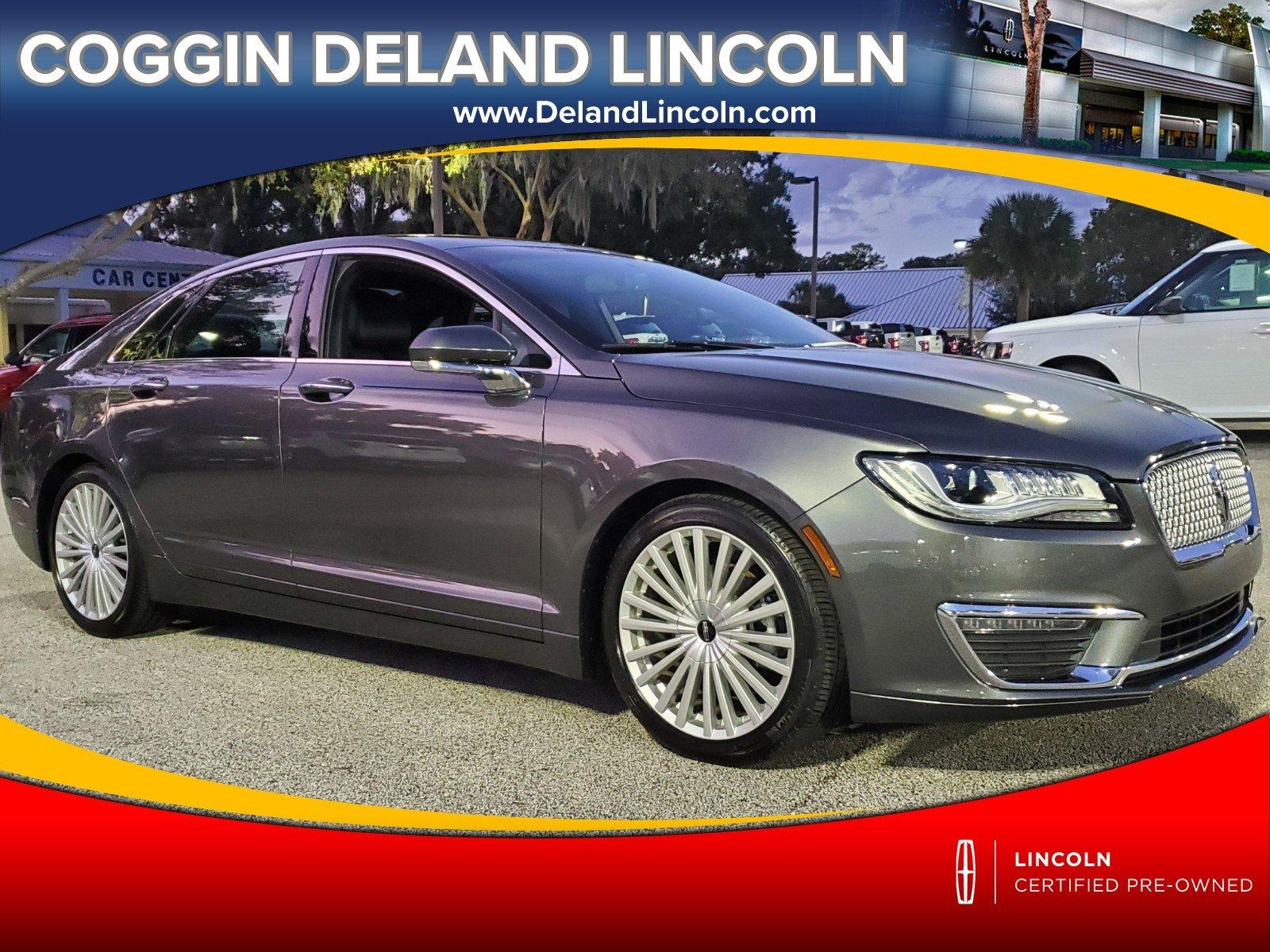 Photo Certified 2017 Lincoln MKZ Hybrid Reserve Hybrid Reserve FWD in Jacksonville FL