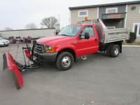 Used 2000 Ford F-350 4x4 Reg Cab Plow/Dump Truck