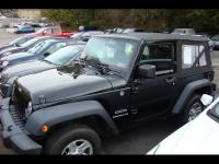 2012 Jeep Wrangler 4WD 2dr Sport