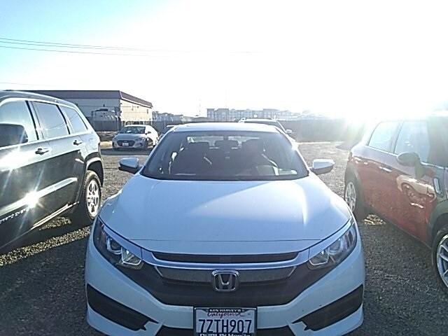 Photo Pre-Owned 2017 Honda Civic EX Sedan in Dublin, CA